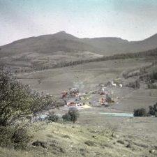 Huntington Community Forest from Shaker Mountain Rd area, 1919. (UVM Landscape Change Program)